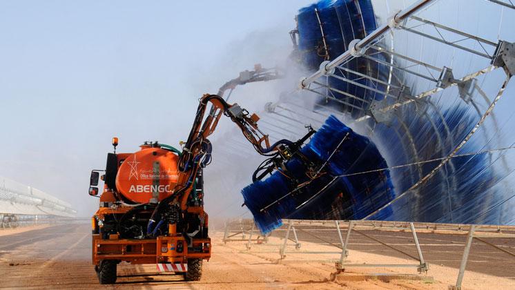 مجمع نور- ورزازات: طاقة شمسية تخدم المغرب والعالم