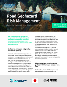 Road Geohazard Risk Management