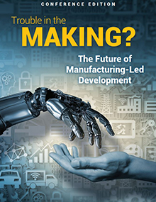Trouble in the Making?: The Future of Manufacturing-Led Development report. © World Bank Group