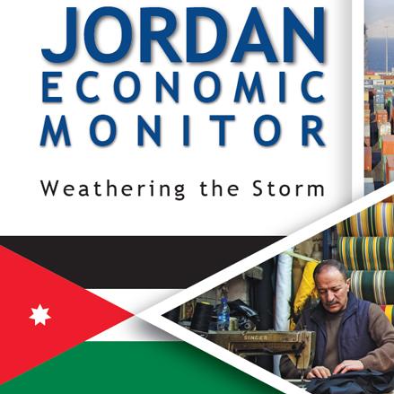 Jordan Economic Monitor, Spring 2020 Cover Photo