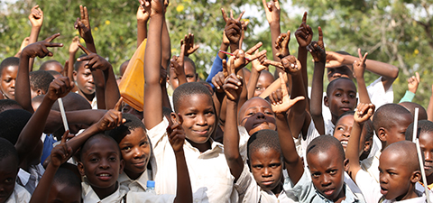 School children in Tanzania. © World Bank