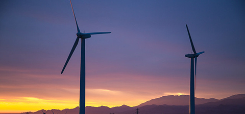 Wind turbines in California. © Tony Webster/Flickr via Creative Commons
