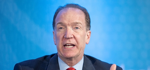 President of the World Bank Group David Malpass. © World Bank