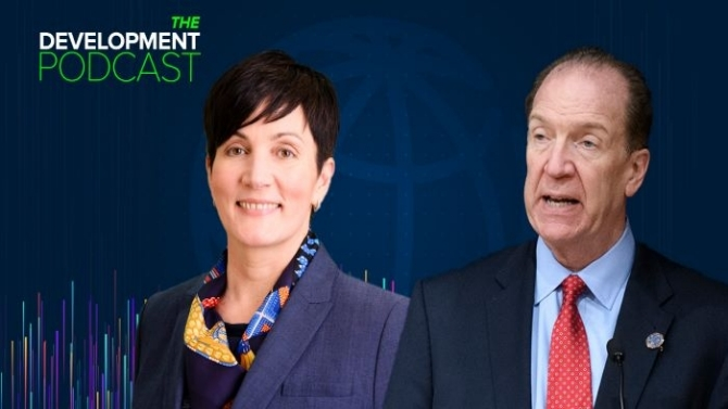 The Development Podcast: President Malpass and IFC's Stephanie von Friedeburg on Key Priorities in 2021. Simone McCourtie / World Bank