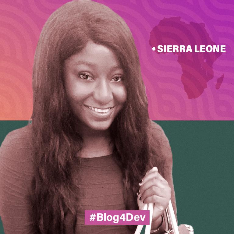 Samantha Marie-Louise Oakes-Howson, Blog4Dev Sierra Leone winner.
