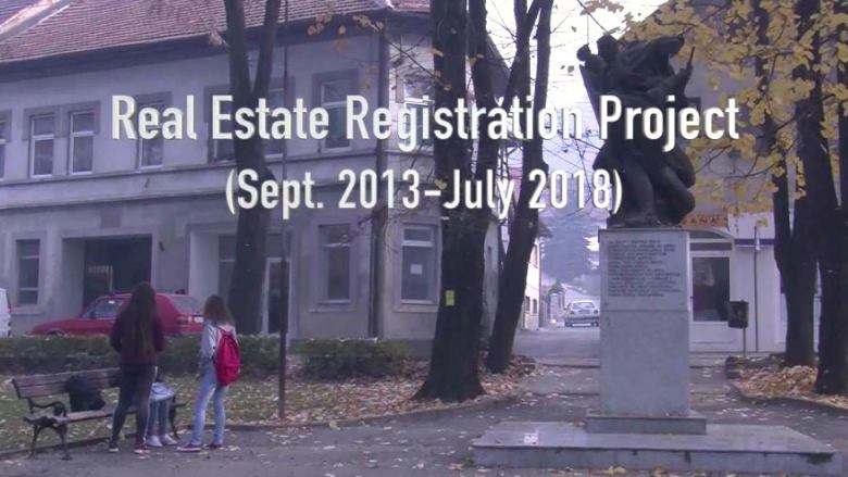 Bosnia and Herzegovina Real Estate Registration Project