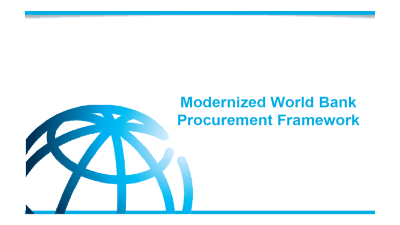 New Procurement Framework and Regulations for Projects After July 1