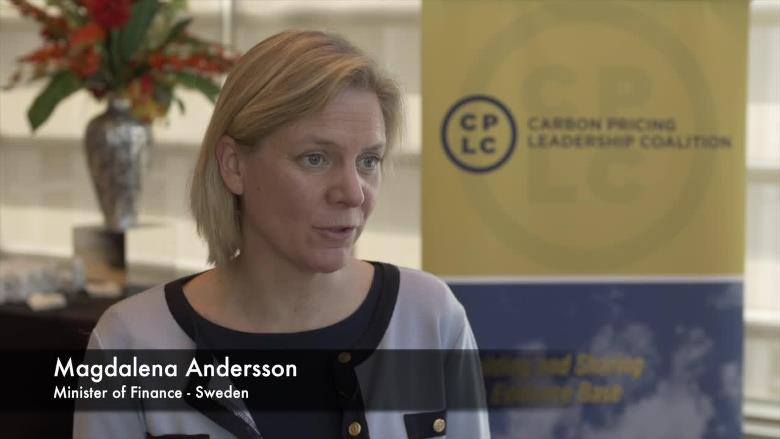 Interview with Magdalena Andersson, Minister of Finance, Sweden