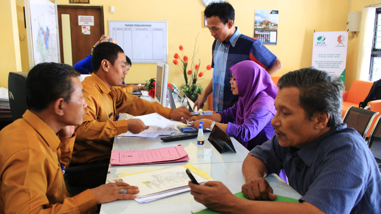 A Local Government in Indonesia Spends Better to Improve Public Services