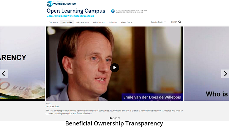 Open Learning Campus: Beneficial Ownership Transparency