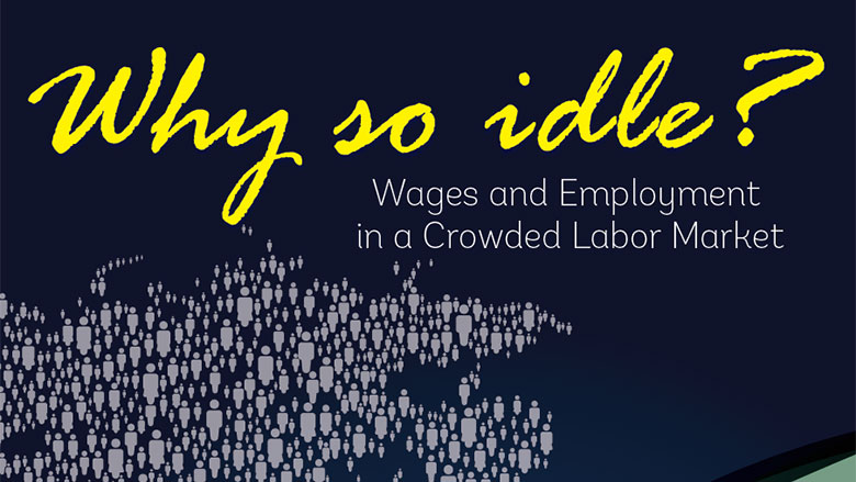 Why so Idle? Wages and Employment in a Crowded Labor Market
