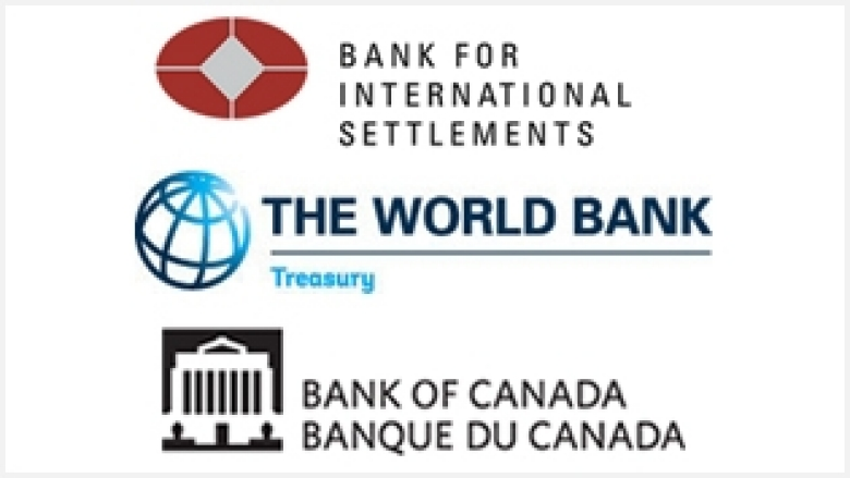 Conference sponsors are the Bank for International Settlements, The World Bank Treasury, and the Bank of Canada.