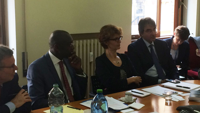 World Bank Vice President, Makhtar Diop, Participates to Roundtable with Italian Stakeholders in Rome
