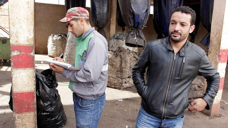 In Morocco, a Trashpicker Cooperative Fights Climate Change