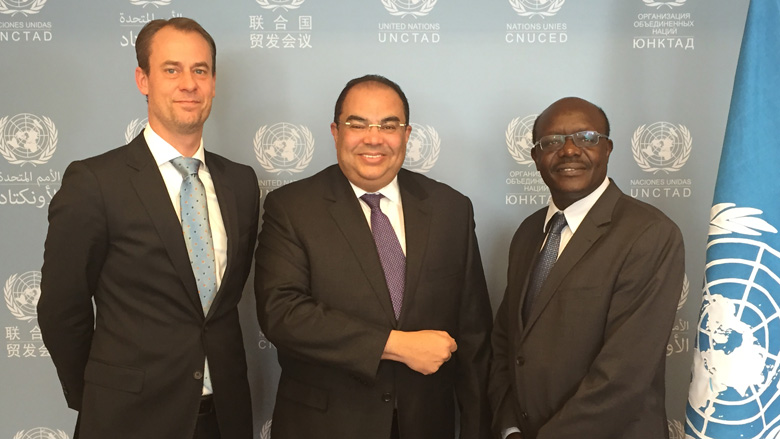 First Visit to Geneva of the Newly-Appointed World Bank Group's Senior Vice President Mahmoud Mohieldin