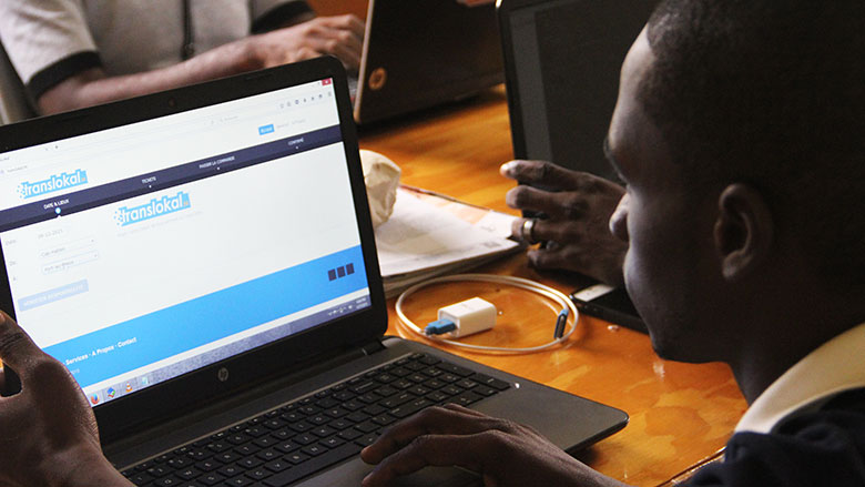 An Online Ticket Machine: The Early Stages Of Digital employment In Haiti