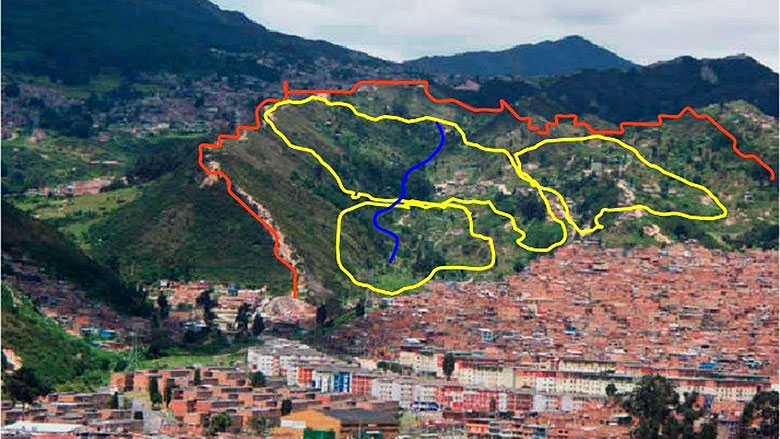 bogota reinforces and improves its public services infrastructure