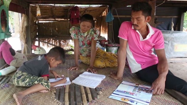 Overcoming Challenges: A Cambodian Mother's Story