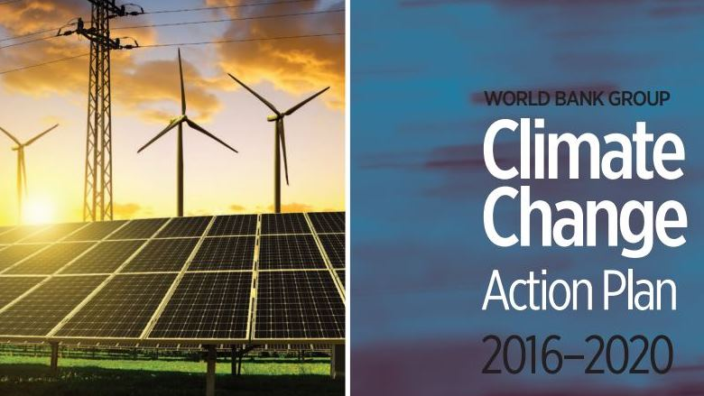world bank group climate change action plan 2016 2020