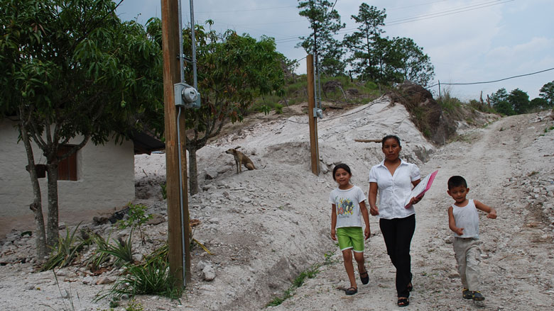 Access to basic infrastructure is no longer a luxury for rural populations in Honduras
