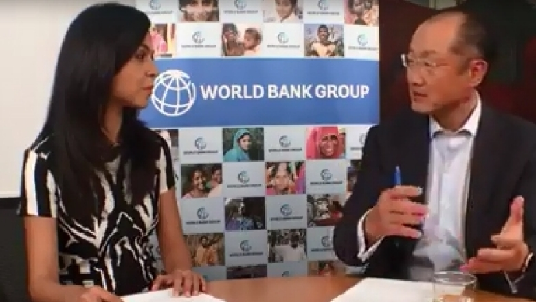 Jim Yong Kim: Facebook Live Discussion on India's Development Agenda