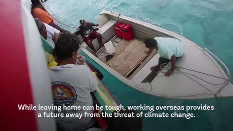 For Pacific Islanders, Migration is An Option to Escape the Effects of Climate Change