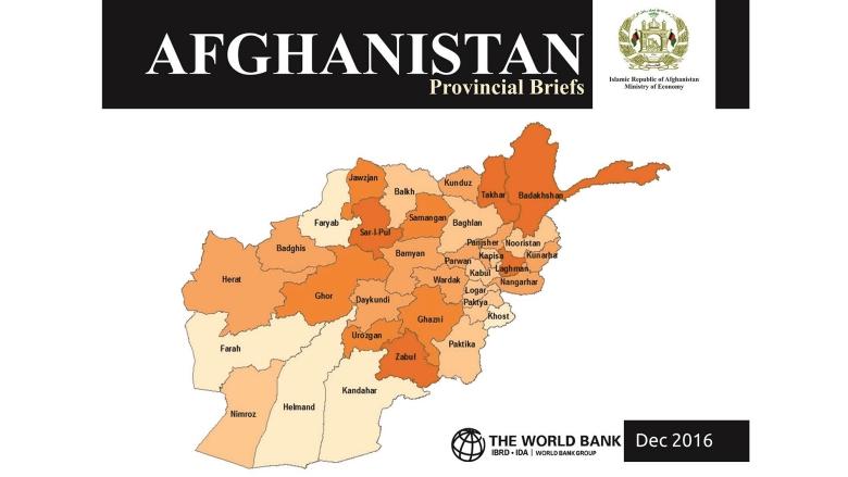 Afghanistan Provincial Briefs 2016