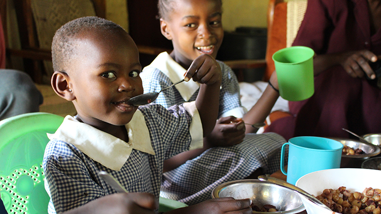 National school feeding programs feed as many as 368 million school children daily all over the world.