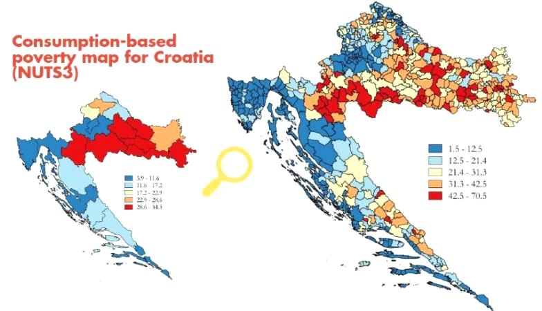 Croatia poverty maps image gumiabroncs Images