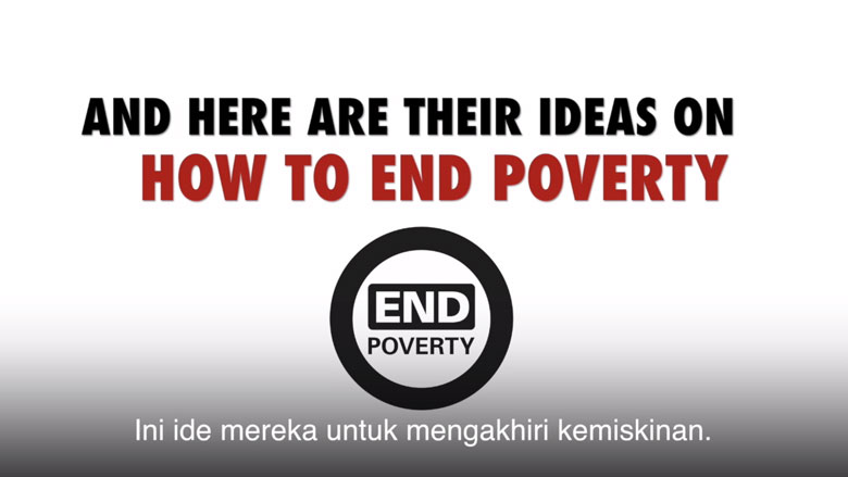 Poverty in the Eyes of Indonesian Youth