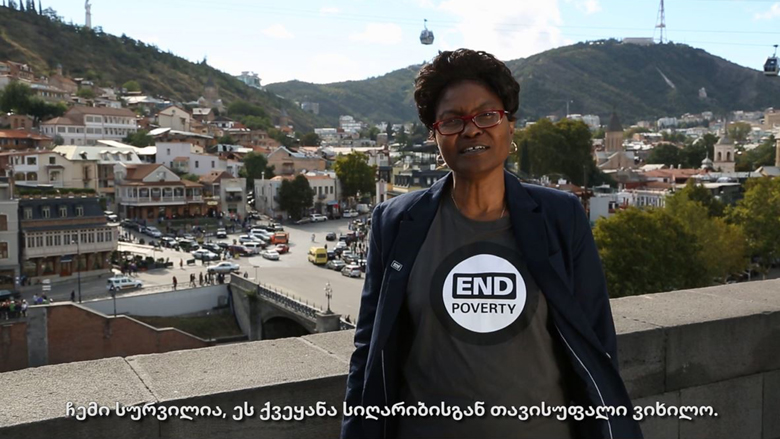 Georgia Joins the End Poverty Day Campaign