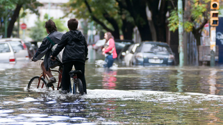 Flood Risk Management in the City of Buenos Aires