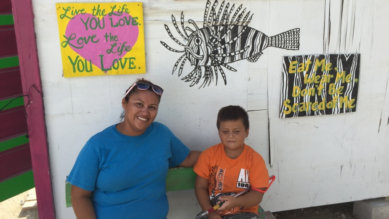 Lionfish Jewelry Saves Reefs, Provides Income