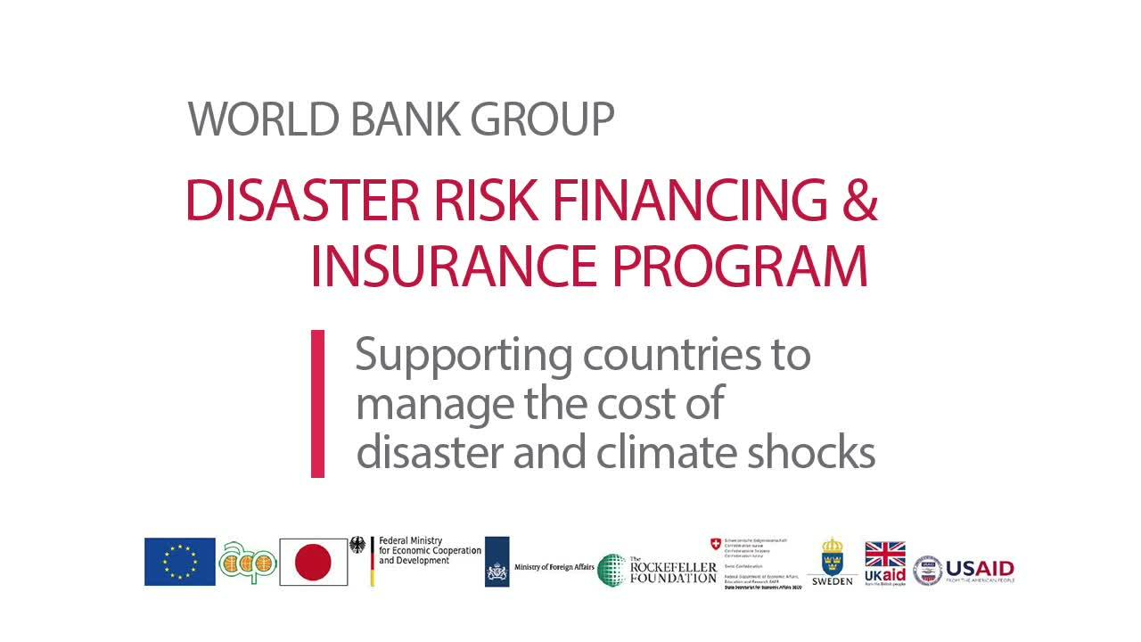 Supporting Countries to Manage the Cost of Disaster and Climate Shocks