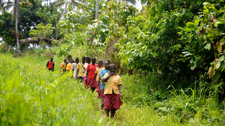 Improving Literacy in Remote Bougainville, Papua New Guinea, One Step at a Time