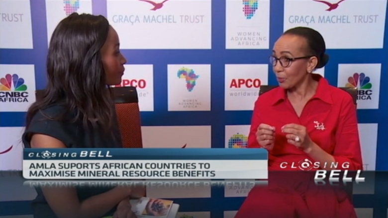 Extractive Industries, Practice Manager, Sheila Khama speaks to CNBC Africa on AMLA
