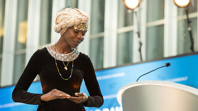 Emi Mahmoud: Young Peacebuilder Shares Words of Inspiration