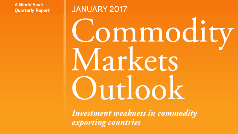 commodities markets Commodity markets outlook april 24, 2018 — oil prices are forecast to average $65 a barrel over 2018, up from an average of $53 a barrel in 2017, on strong demand from consumers and restraint by oil producers, while metals prices are expected to rise 9 percent this year, also on a pickup in demand and supply constraints, the world bank reports.