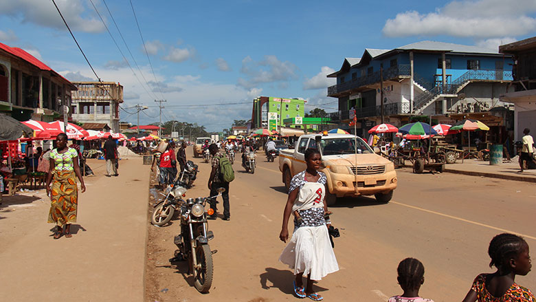 improved road network in liberia boosts trade and commerce rh worldbank org liberia map liberia flag