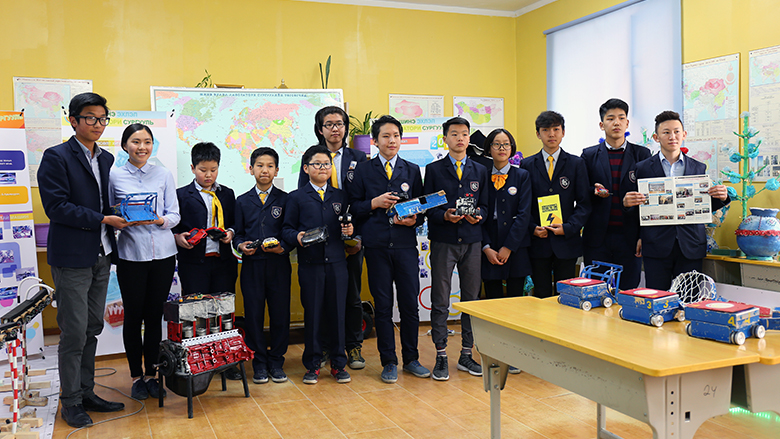 Smalls Grants Make a Big Difference in Mongolia's Schools
