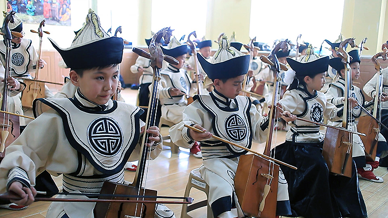 The Sweet Sounds of Learning: Expanding Kid's Horizons through the Arts in Mongolia