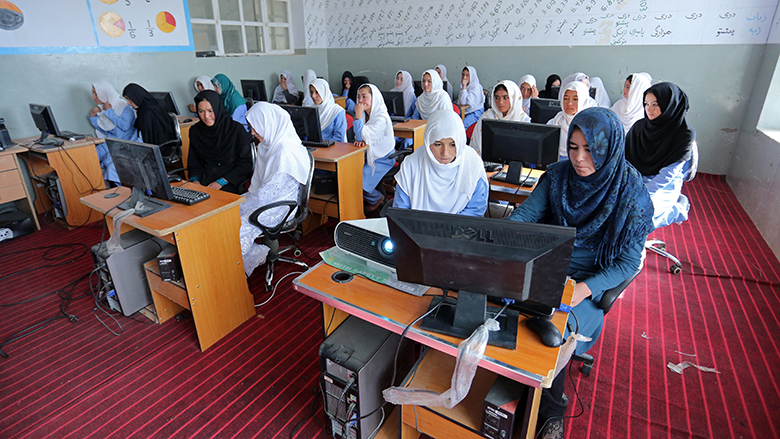 For Girls In Afghanistan, A Quality Education For A Better Future