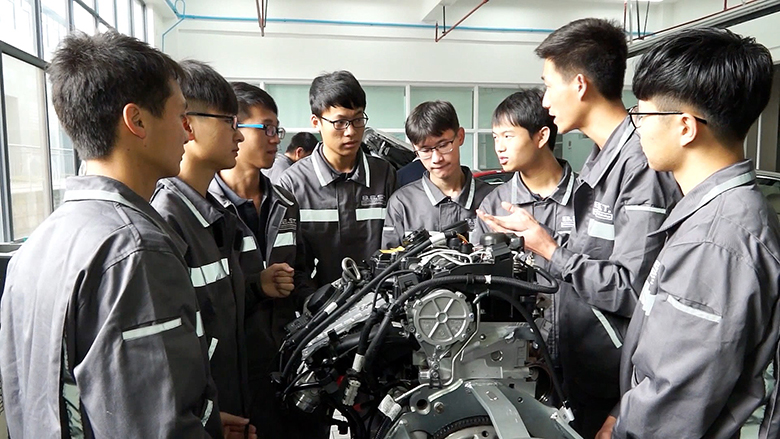 With Training, Vocational School Students in China Become Active Learners