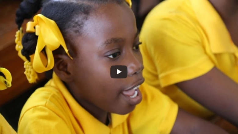 The story of a 11-year-old in Haiti