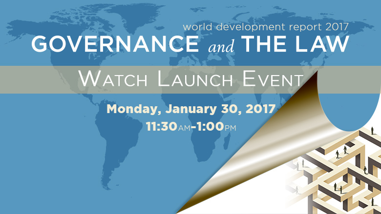 WDR 2017 Launch Event