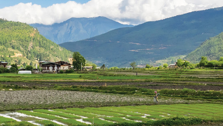 For remote rural communities in mountainous Bhutan, survival hinges upon access to roads and markets.