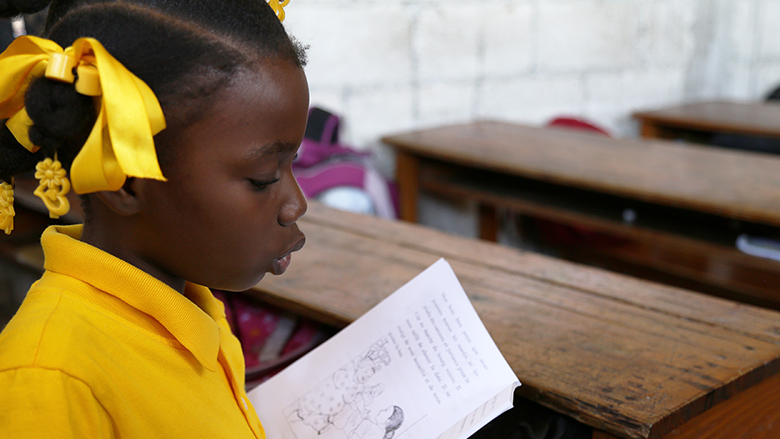 Eager to Learn: The Story of an 11 Year Old Girl in Haiti