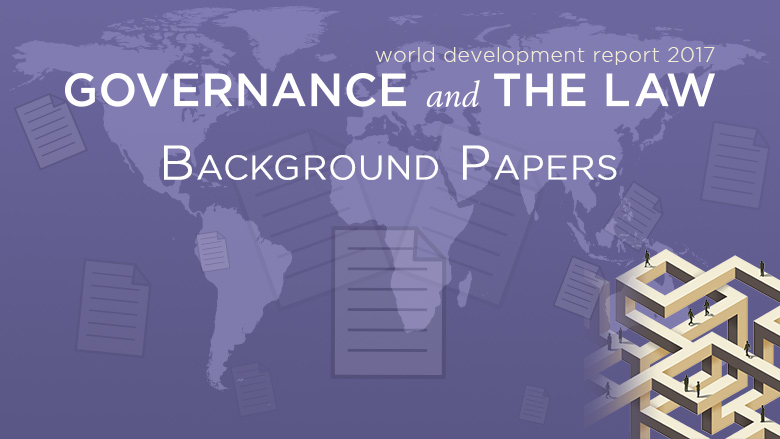 WDR 2017 Background Papers