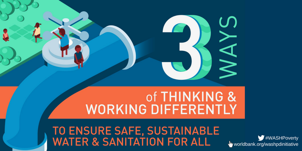 3 Ways of Thinking and Working Differently to Ensure Water and Sanitation for All