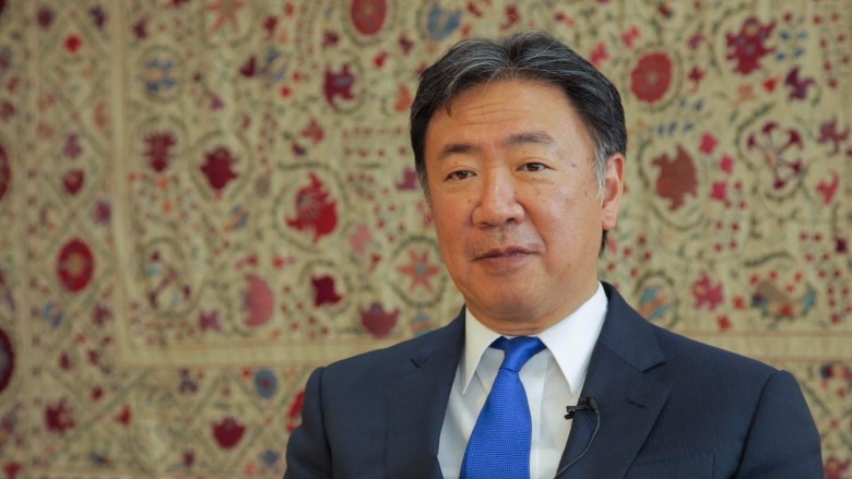 Hideki Mori, World Bank Country Manager for Uzbekistan